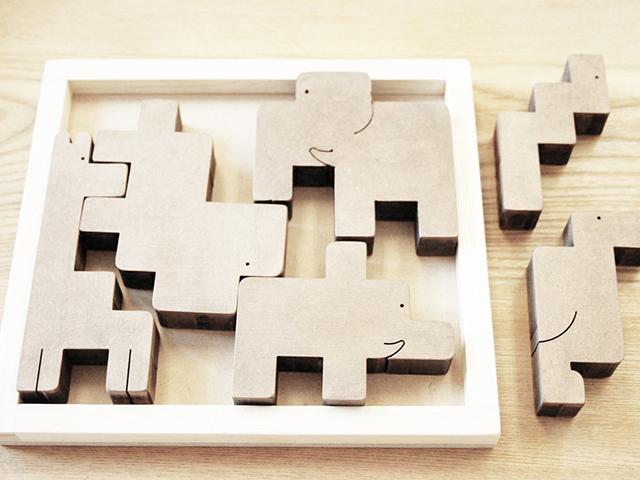 どうぶつ積木パズル